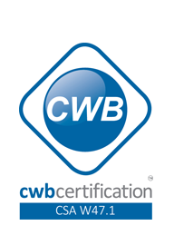 Iron Age Manufacturing is proudly CWB Certified - exceeding requirements and standards on a variety of product and safety codes