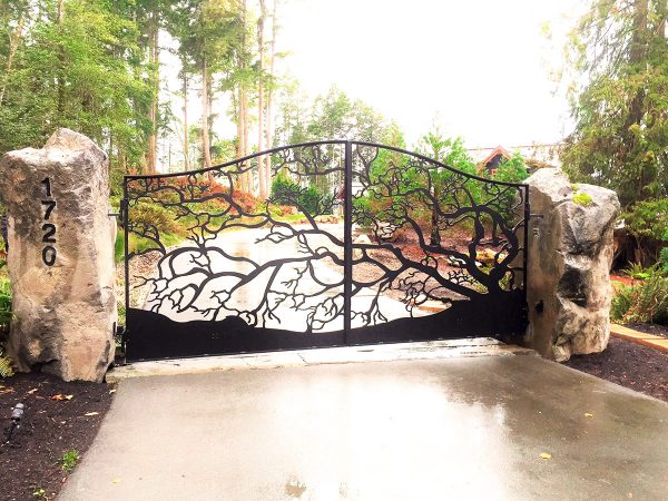Exterior Driveway Gate at Iron Age Manufacturing Ltd