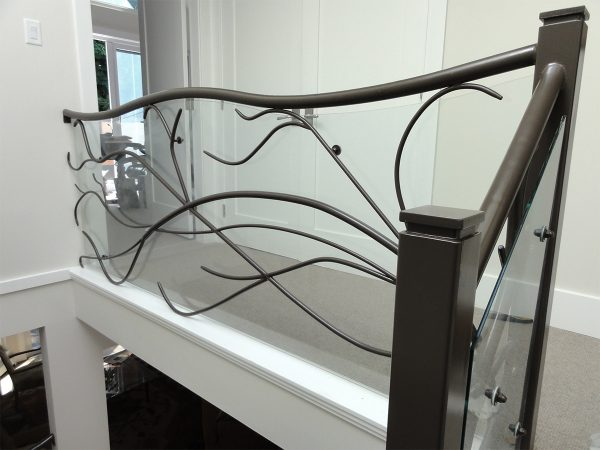 Elegant Interior Railings at Iron Age Manufacturing Ltd