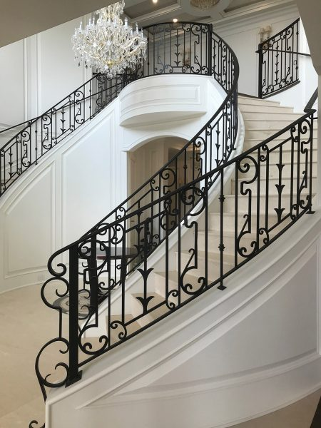 Iron Age - Custom Railing design and build in Vancouver