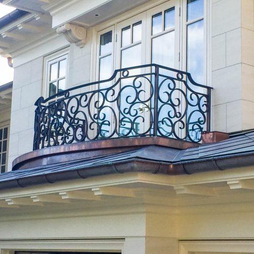 Custom Balcony Railings by Iron Age Manufacturing Ltd.