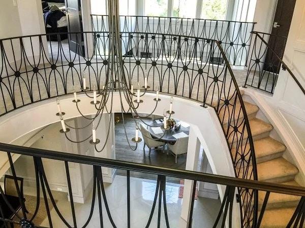 Residential Metal Stair Railings in Vancouver, BC