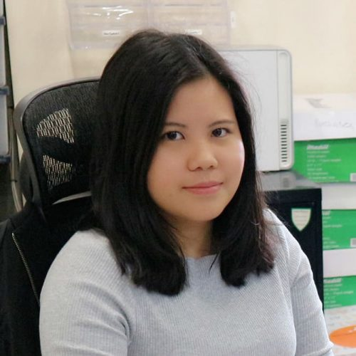 Sarah Lam,Office Manager atIron Age Manufacturing Ltd